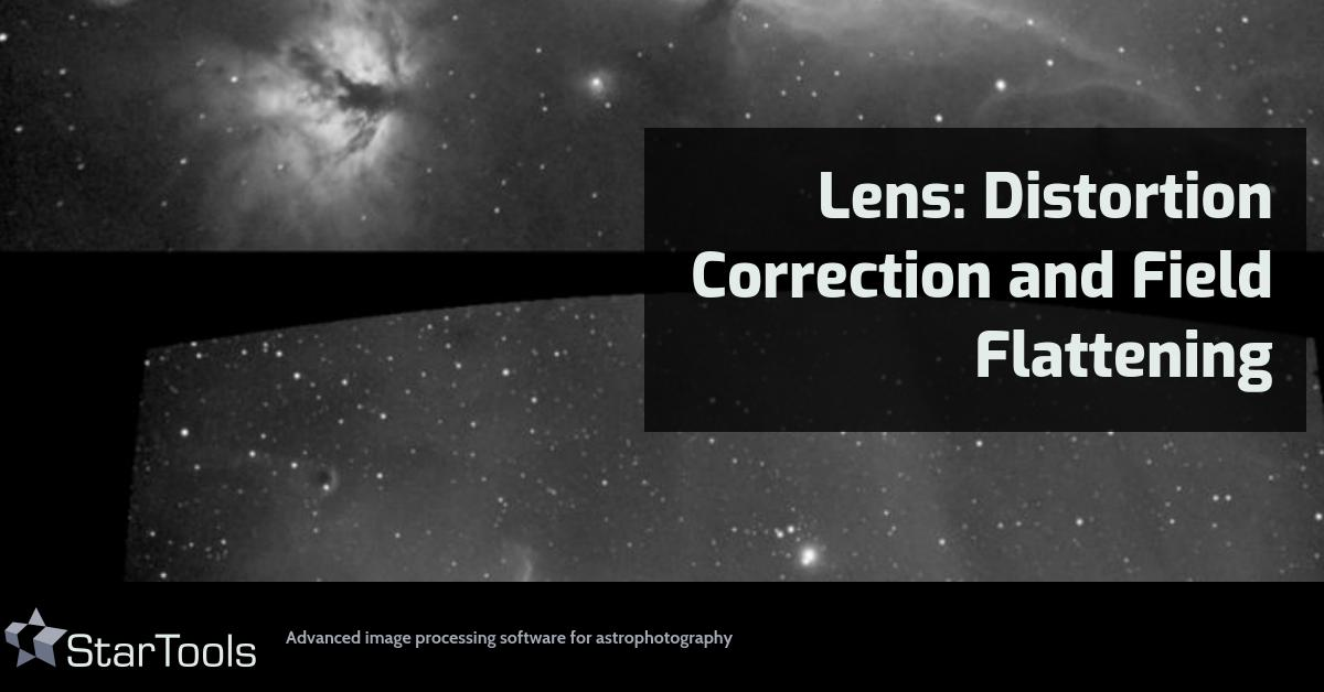 Modules: Lens: Distortion Correction and Field Flattening