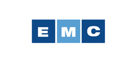 EMC golf carts, utilities and custom electric vehicles logo
