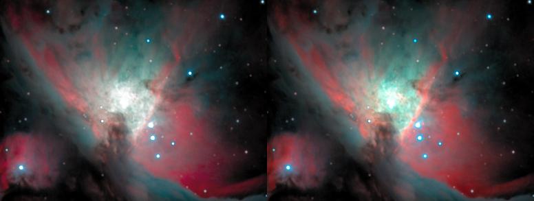 M42's core side-by-side